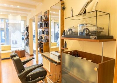 Der Herrenbereich im Salon Ellmers Friseure